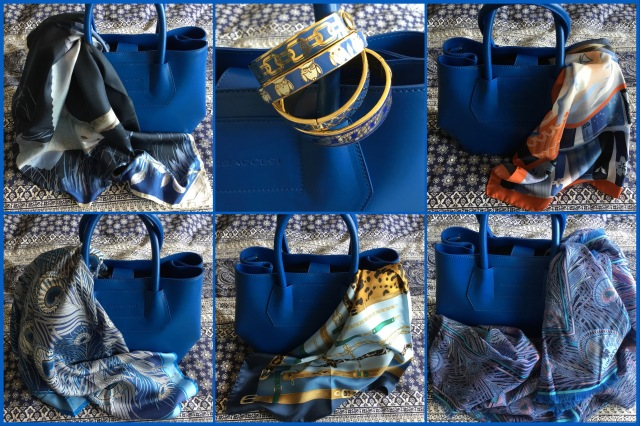 Midi Muse by Massaccesi with scarves and bangles