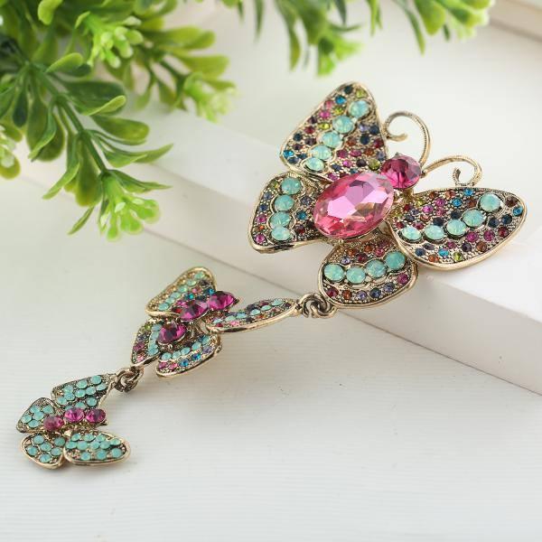 Butterfly brooch - Sonrisa