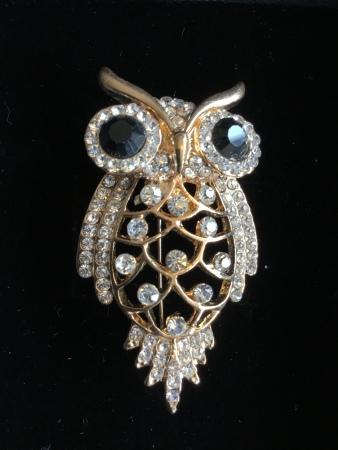 Owl brooch - Sonrisa