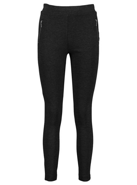 Grey leggings with zips - Sainsbury's Tu