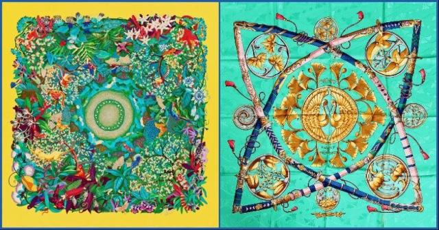 L: Au Coeur de la Vie, R: Daimyo Princes du Soleil Levant