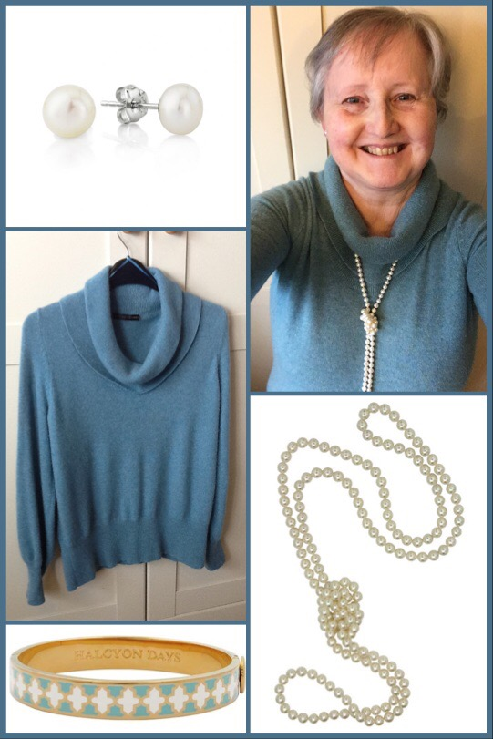 Outfit of the day 27/11/18 with pearls