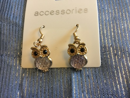Owl earrings - Sainsbury's Tu