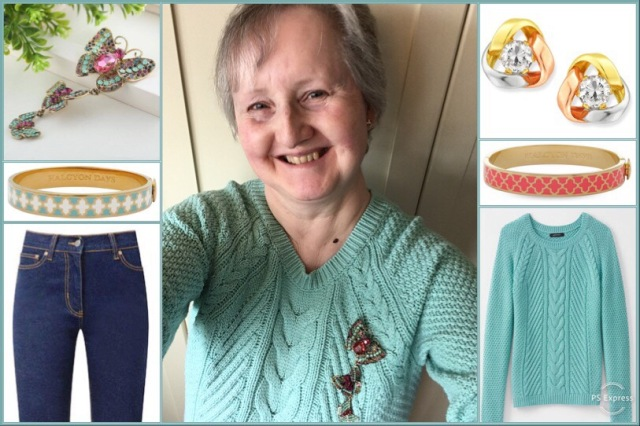 Outfit of the day 21/03/19 with Sonrisa Boutique's butterfly brooch