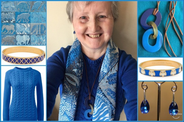 Outfit of the day 08/03/19 with Hermès' Sweet Dreams scarf